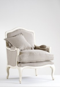 Fotel Antique White - Ecru LDB